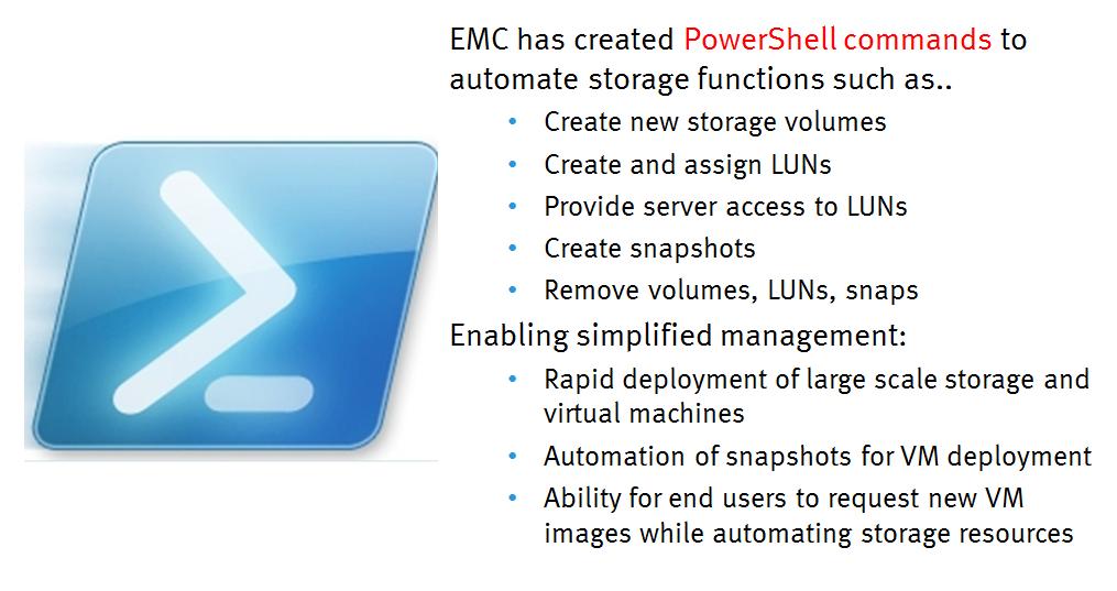 EMC Storage Integrator (ESI) 3 5 | msftDude